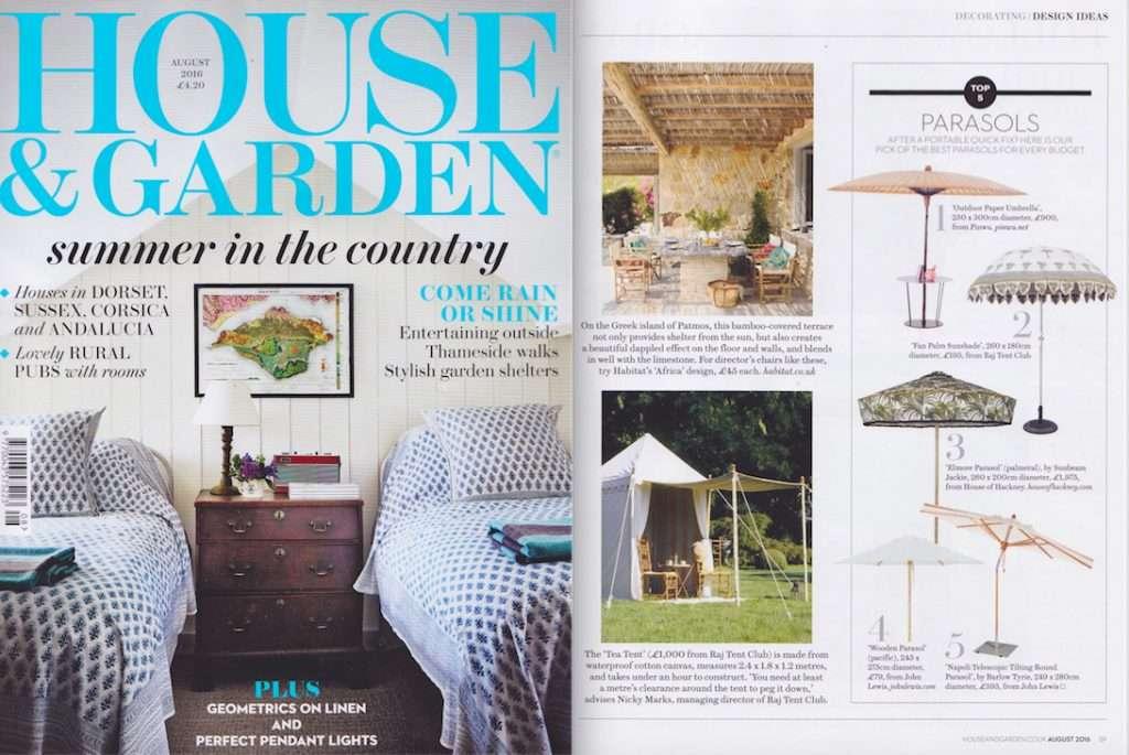 House & Garden August